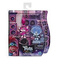 Игрушка HASBRO Тролли 2 фигурки в упаковке TECHNO ROCK CITY E7955_E8581
