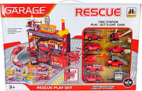 """Ігровий набір Паркінг """"Пожежна служба"""" - MAYA TOYS (566-4), фото 1"""