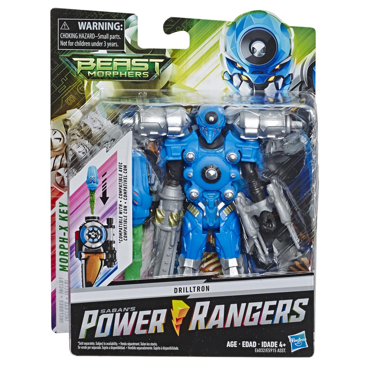 Игровая фигурка Hasbro Могучие Рейнджеры, 15 см DRILLTRON (E5915_E6032)
