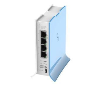 2.4GHz Wi-Fi точка доступу з 4-портами Ethernet для домашнього використання hAP liteTC (RB941-2nD-TC)