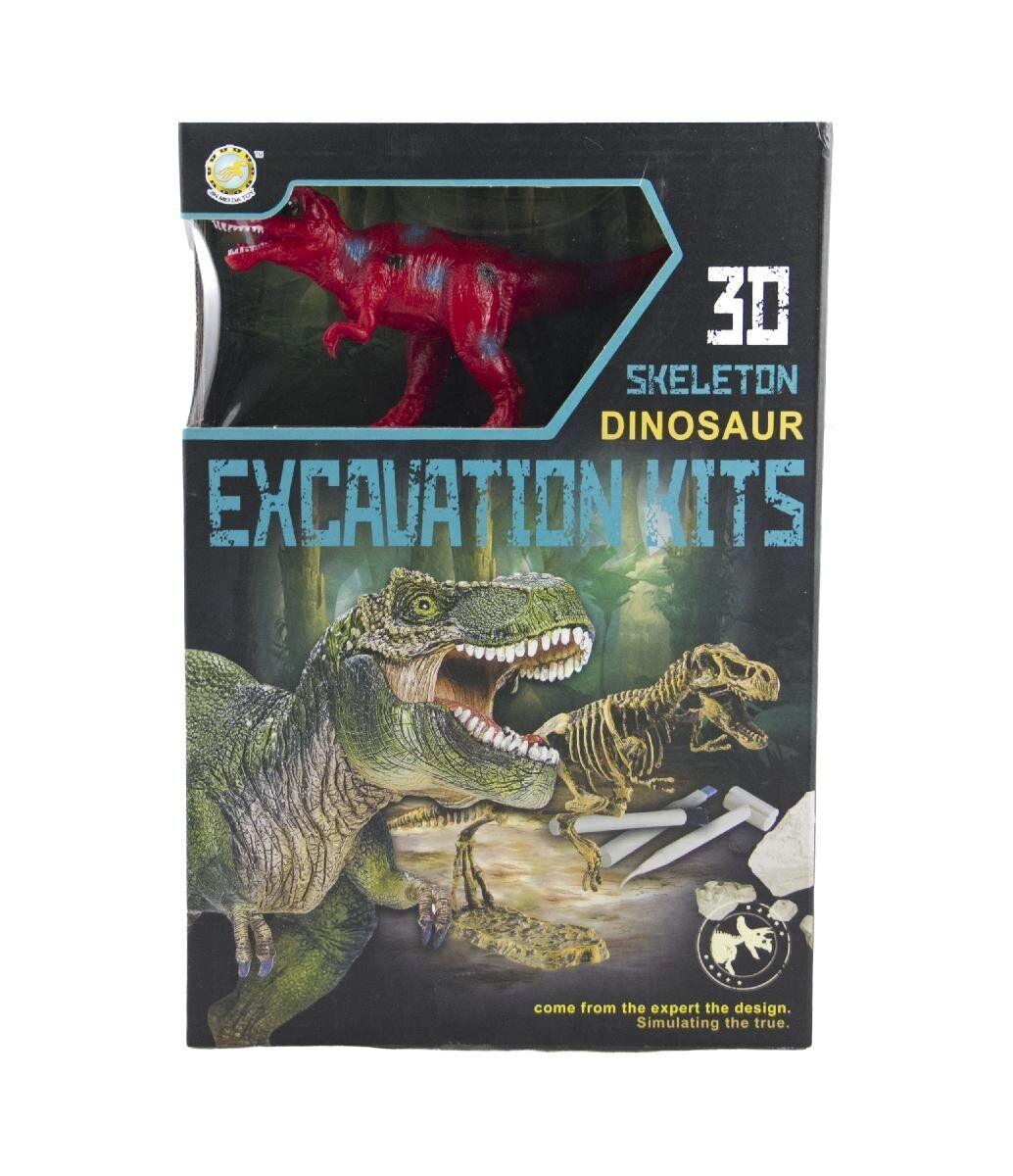 """Набір ігровий QUNXING TOYS """"Розкопки динозавра"""" T-REX (501B-504B-1)"""