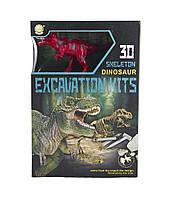 """Набір ігровий QUNXING TOYS """"Розкопки динозавра"""" T-REX (501B-504B-1), фото 1"""