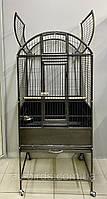 """Большая клетка-вольер для попугаев """"Silver Birdcage"""" (60*70*170 см.)"""