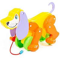 Собака-каталка Polesie Бобі жовто-помаранчева (5434-1)