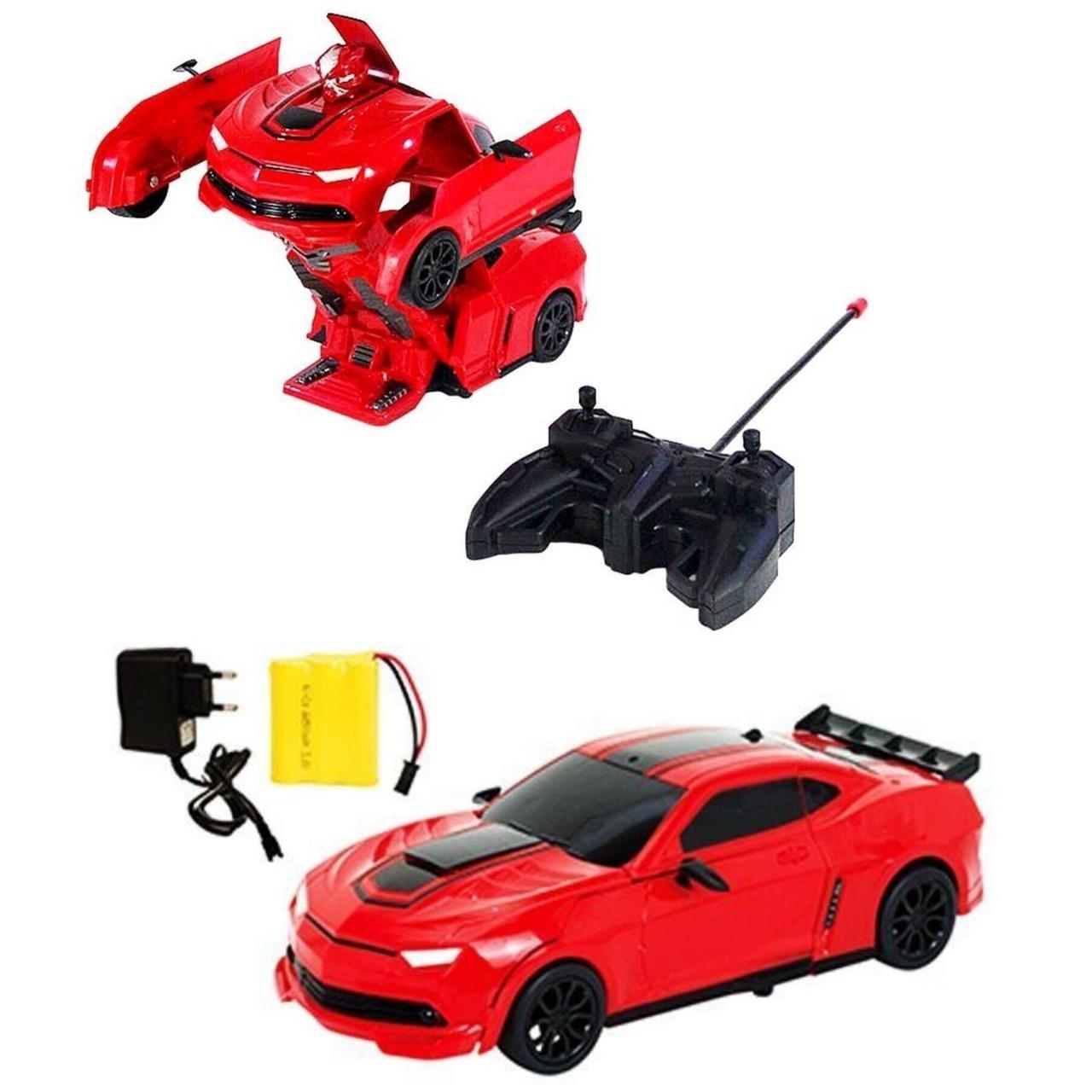 Машина - Трансформер на радіокеруванні, червона - Maya Toys (JT297-2)