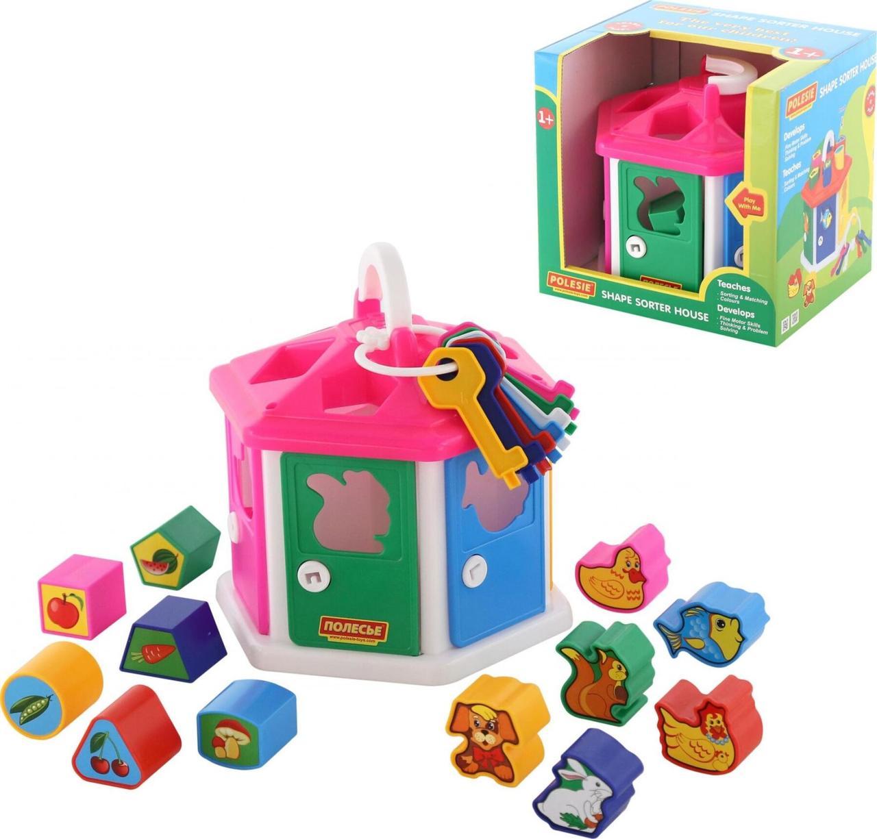 Игра Polesie логический домик в коробке (6011)