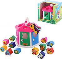 Игра Polesie логический домик в коробке (6011), фото 1