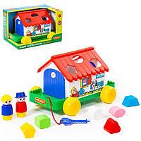 Игра Polesie игровой дом в коробке красный (6028-1), фото 1