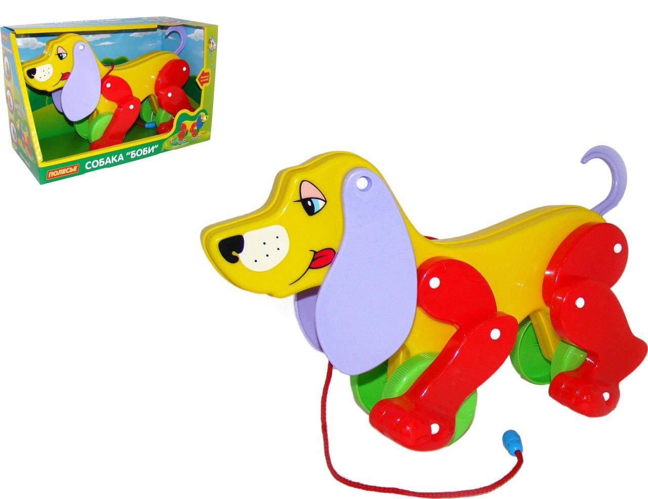 """Гра Polesie собака-каталка """"Бобі"""" (в коробці) (3330)"""