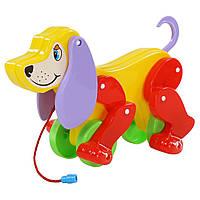 Собака-каталка Polesie Бобі жовто-червона (5434-2)