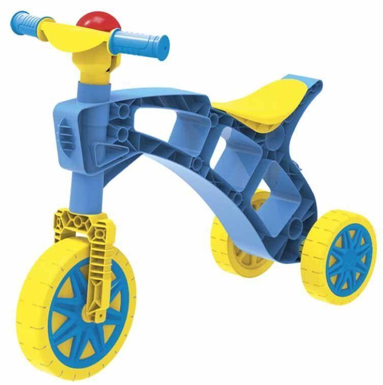 Ролоцикл Technok сине-желтый (3220-2)