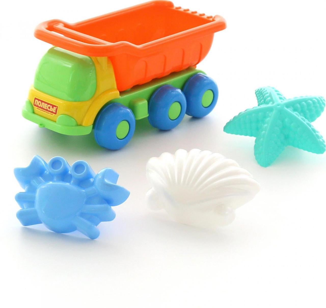 """Іграшка Polesie """"Кеша"""" автомобіль-самоскид № 570 (57822)"""