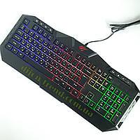 Клавиатура для компьютера HAVIT HV-KB510L / Клавиатура с подсветкой / Оригинальная клавиатура для пк