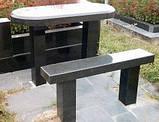 Столы и лавочки из натурального камня, фото 3