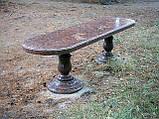 Столы и лавочки из натурального камня, фото 5