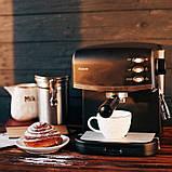 Кофеварка рожковая Magio MG-963, фото 3