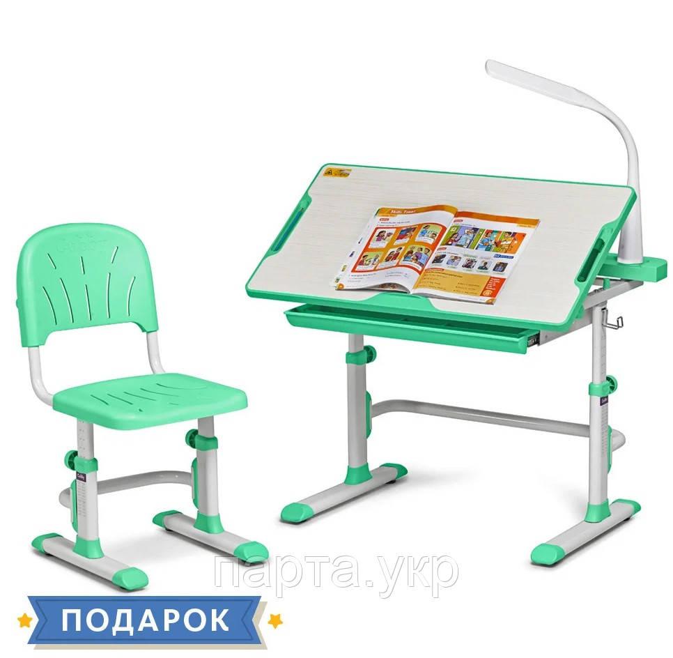 Детская растущая парта и стул-трансформер Cubby Disa, 83см,  2 цвета