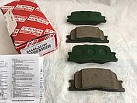 Задние колодки 04466-33100. TOYOTA
