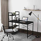Стол компьютерный Loran в стиле Loft для компьютера письменный с полками Лофт, фото 7