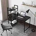 Стол компьютерный Loran в стиле Loft для компьютера письменный с полками Лофт, фото 5