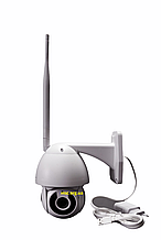 Цифровая камера видеонаблюдения поворотная уличная  WiFi  IP Camera v380 1080p 2mp уличная IP 66