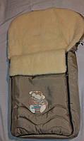 Спальный мешок-конверт на овчине тм WOMAR № 40 (excluz) ORIGINAL