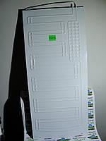 Испаритель плачущий, проточный 2 трубки, Размер 100 х 45. Для бытовых холодильников, морозильных камер.