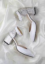 Жіночі весільні туфлі від виробника модель ФС11