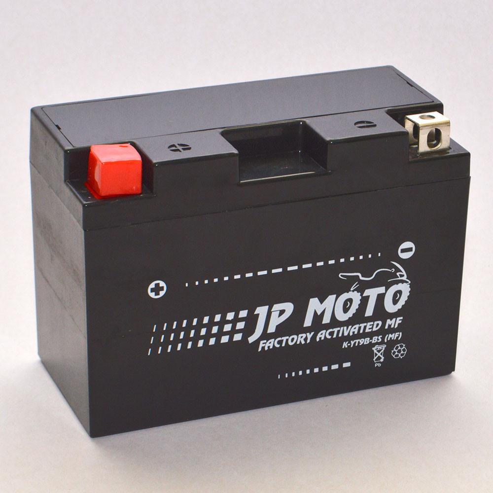 Аккумулятор мотоциклетный JP Moto 8Ah-12v YT9B-BS EN90А