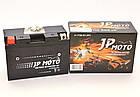 Аккумулятор мотоциклетный JP Moto 8Ah-12v YT9B-BS EN90А, фото 2