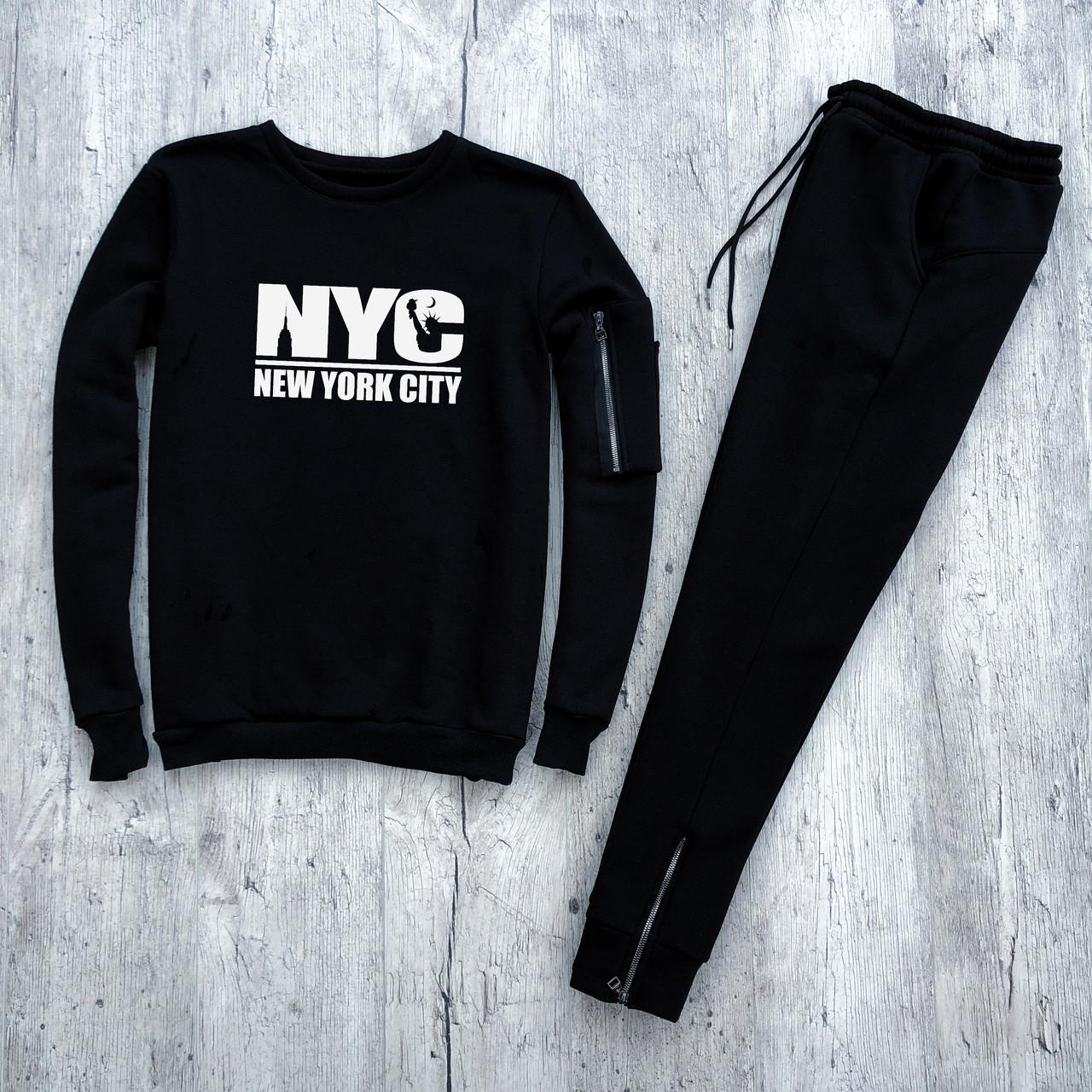 Мужской костюм с замочками New York City