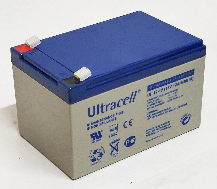 Батарея аккумуляторная Стационарная Ultracell AGM 7.2Ач UL12-12  12В Англия