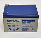 Батарея аккумуляторная Стационарная Ultracell AGM 7.2Ач UL12-12  12В Англия, фото 4