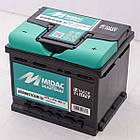 Аккумулятор автомобильный MIDAC HERMETICUM 6 СТ-12В 47Ач R+ EN450А Италия, фото 3
