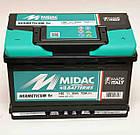 Аккумулятор автомобильный MIDAC HERMETICUM 6СТ-12В 80Ач R+ EN720А Италия, фото 2