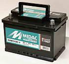 Аккумулятор автомобильный MIDAC HERMETICUM 6СТ-12В 80Ач R+ EN720А Италия, фото 3