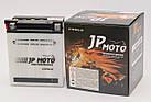 Аккумулятор мотоциклетный JP Moto 12Ah (134х80х160) 12В  R+ EN155А, фото 2
