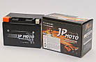 Аккумулятор мотоциклетный JP Moto 11Ah (150х87х110) 12В  EN140А, фото 2
