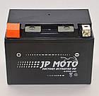 Аккумулятор мотоциклетный JP Moto 11Ah (150х87х110) 12В  EN140А, фото 3