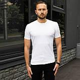 Чоловіча футболка біла, фото 3