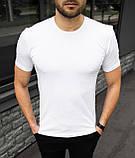 Чоловіча футболка біла, фото 4