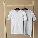 Чоловіча футболка біла, фото 7