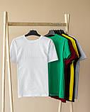 Чоловіча футболка біла, фото 9