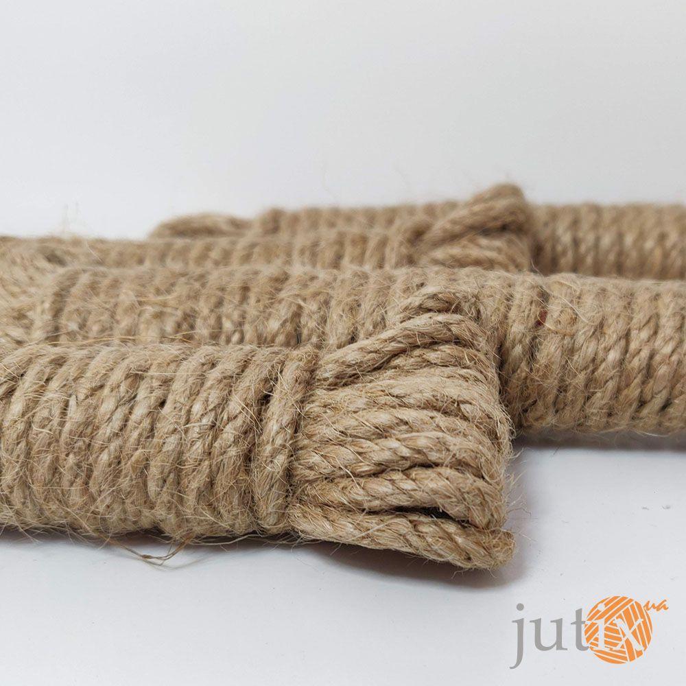 Джутовая веревка 4 мм - 6 метров