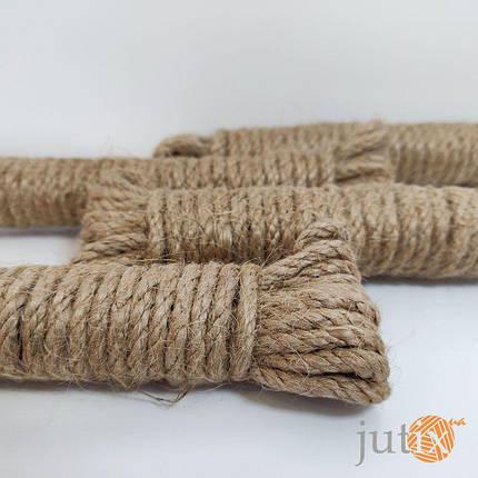 Джутовая веревка 4 мм - 6 метров, фото 2