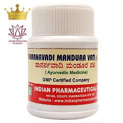 Пунарнавади Мандура Ваті (Punarnavadi Mandura Vati, IPC), 50 грам - Аюрведа для здоров'я печінки