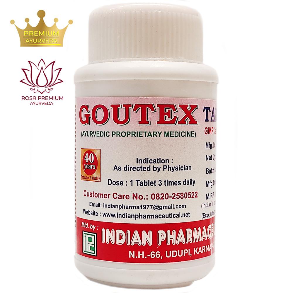 Гоутекс (Goutex, Indian Pharmaceutical) - Аюрведа для опорно-рухової системи