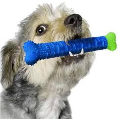 Зубна щітка для собак, самоочищається гумова собача кістка для зубів, для чищення ясен Chewbrush