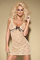 Эротическое нижнее женское белье,  пеньюар, Obsessive, Caramella chemise