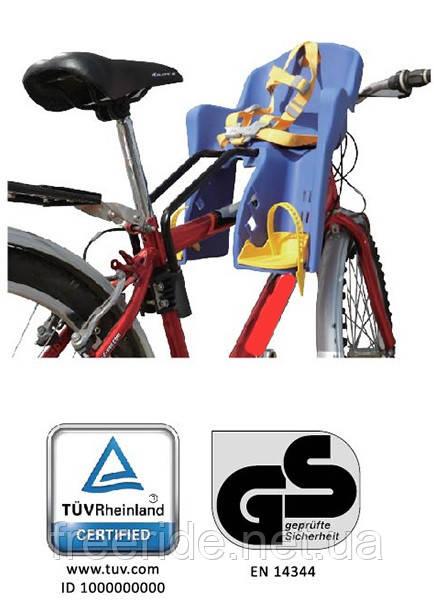 Велокресло TILLY Mini T-812 для перевозки детей (переднее)